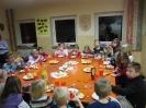 Weihnachtsfeier der Kindergruppe